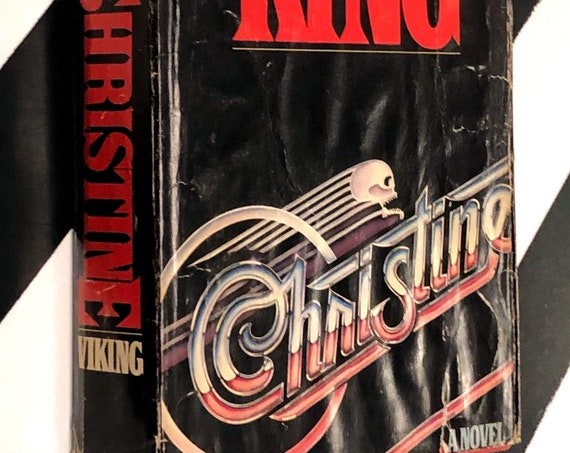 Christine: A Novel by Stephen King (1983) hardcover book