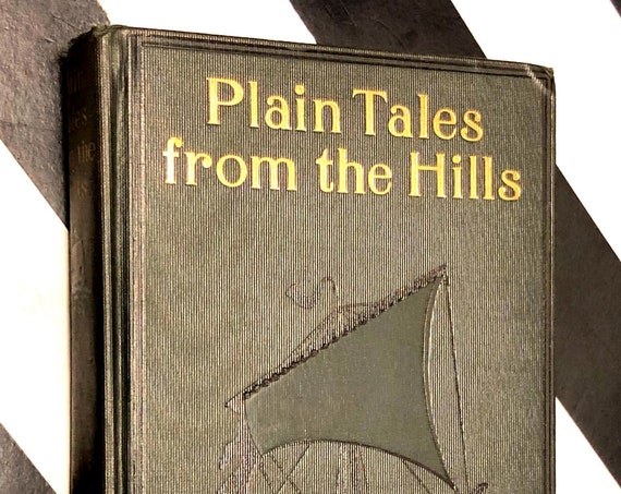 Plain Tales from the Hills by Rudyard Kipling (1928) hardcover book