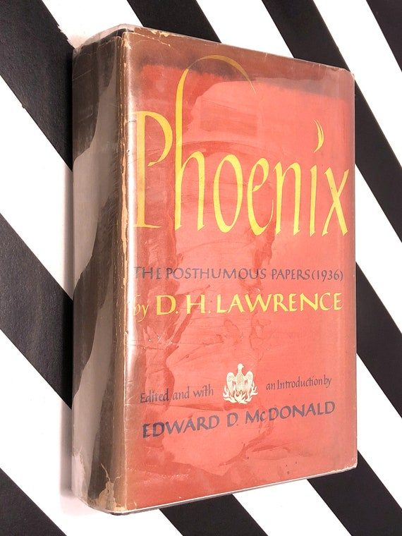 Phoenix: The Posthumous Papers of D. H. Lawrence (1968) hardcover book