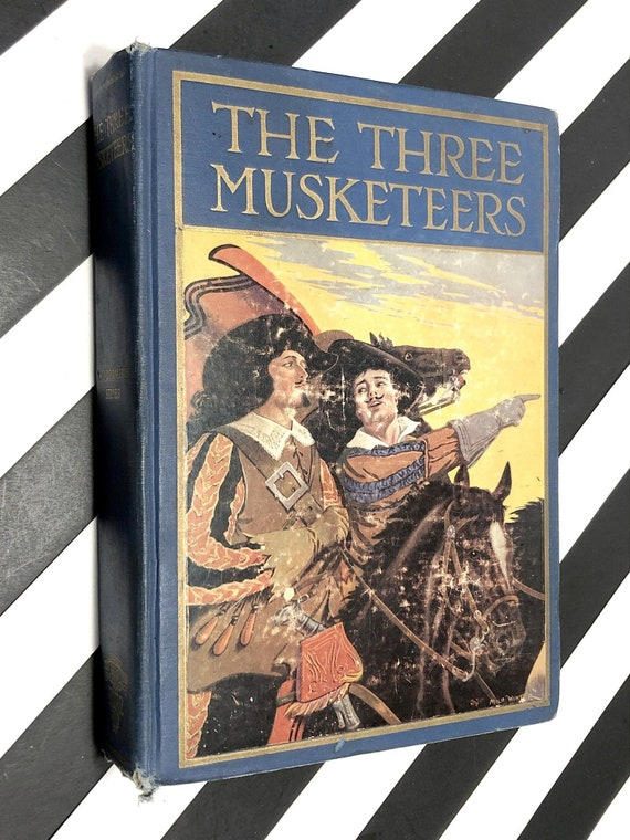The Three Musketeers by Alexandre Dumas (1928) hardcover book