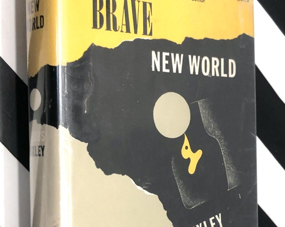 Brave New World by Aldous Huxley (1946) hardcover book