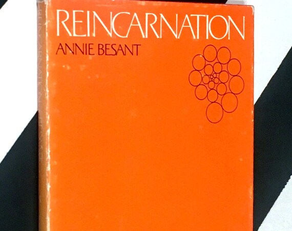 Reincarnation by Annie Besant (1970) hardcover book