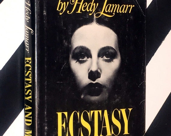 Ecstasy and Me: My Life as a Woman by Hedy Lamarr (1966) hardcover book