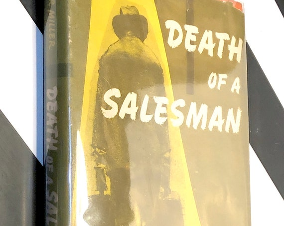 Death of a Salesman by Arthur Miller (1949) hardcover book