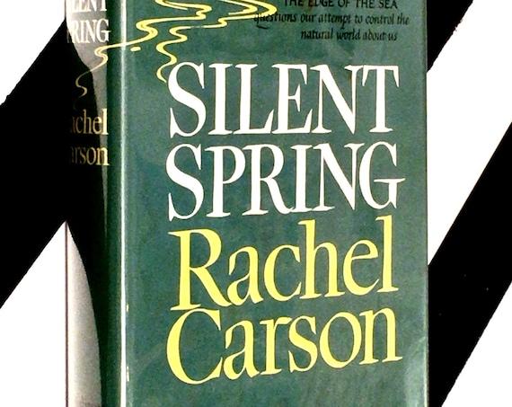 Silent Spring by Rachel Carson (1962) hardcover book