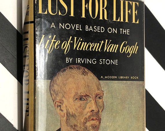 Lust for Life by Irving Stone (1939) Modern Library book