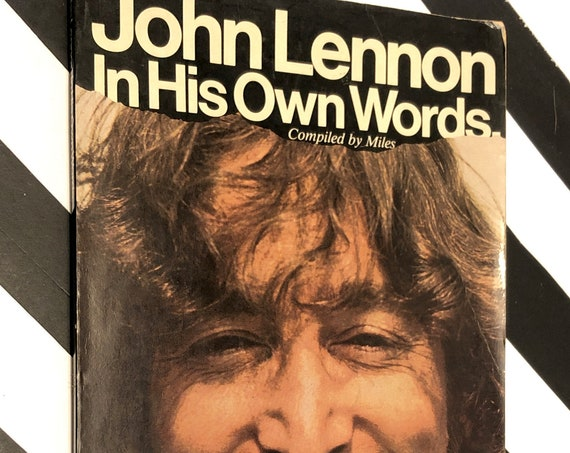 John Lennon: In His Own Words (1981) softcover book