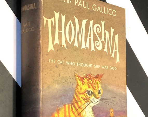 Thomasina by Paul Gallico (1957) hardcover book