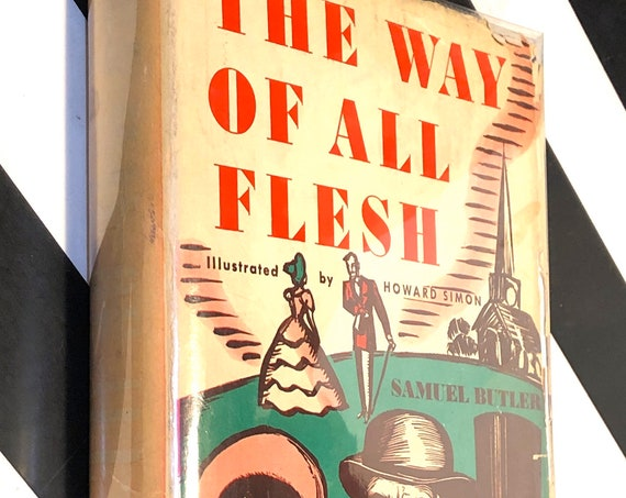 The Way of All Flesh by Samuel Butler (1935) hardcover book