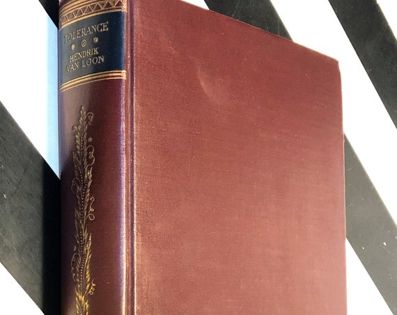 Tolerance by Hendrik Willem Van Loon (1925) first edition book