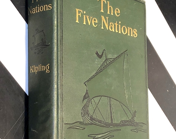 The Five Nations by Rudyard Kipling (1903) first edition book