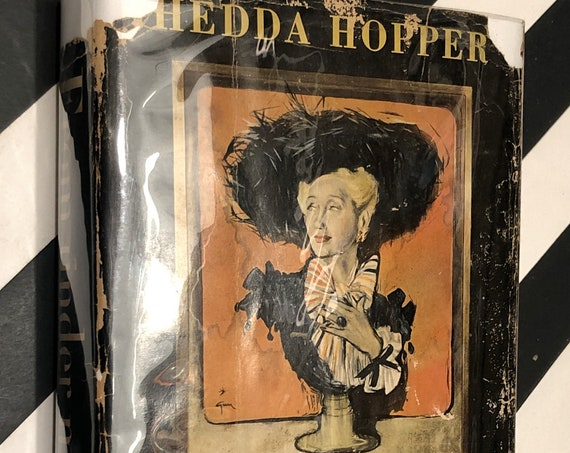 From under my Hat by Hedda Hopper (1952) first edition book