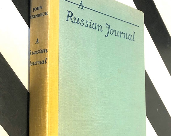 A Russian Journal by John Steinbeck (1948) first edition book