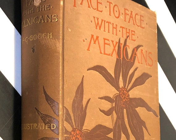Face to Face with the Mexicans by Fanny Chambers Gooch (1887) first edition book