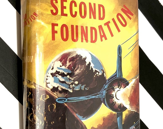 Second Foundation by Isaac Asimov (1953) hardcover book.
