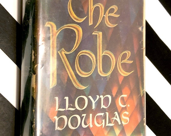 The Robe by Lloyd Douglas (1942) hardcover book
