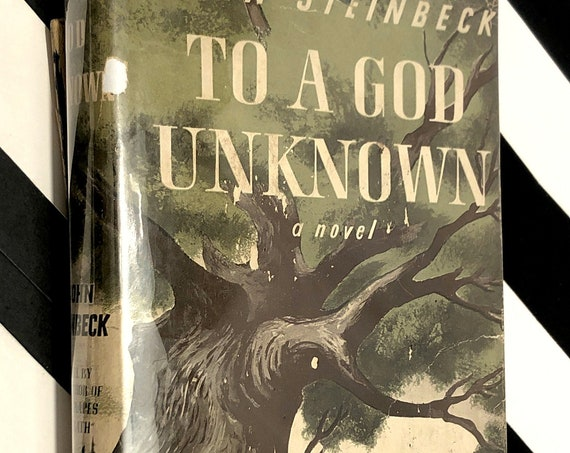 To a God Unknown by John Steinbeck (1943) hardcover book