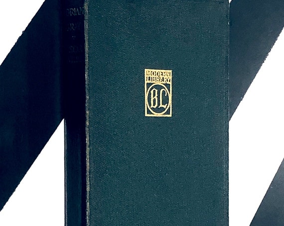 The Picture of Dorian Gray by Oscar Wilde with Preface by Basil Hallward (undated) stiff leatherette boards Modern Library book