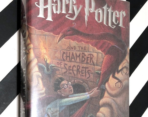 Harry Potter and the Chamber of Secrets by J. K. Rowling (1999) first edition book