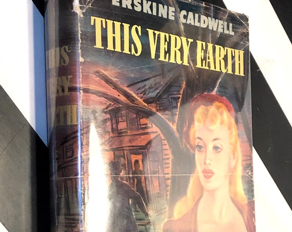 This Very Earth by Erskine Caldwell (1948) signed first edition book