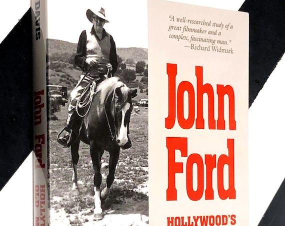 John Ford: Hollywood's Old Master by Ronald L. Davis (1995) softcover book