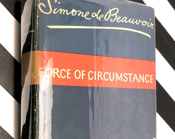Force of Circumstance by Simone de Beauvoir (1963) first edition book