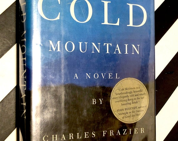 Cold Mountain by Charles Frazier (1997) hardcover first edition book