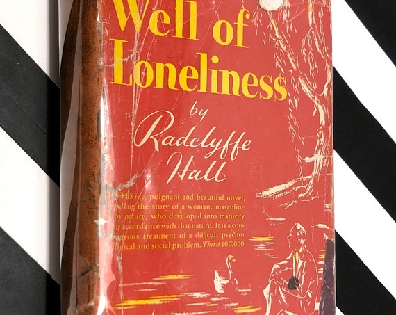 Well of Loneliness by Radclyffe Hall (1928) hardcover book
