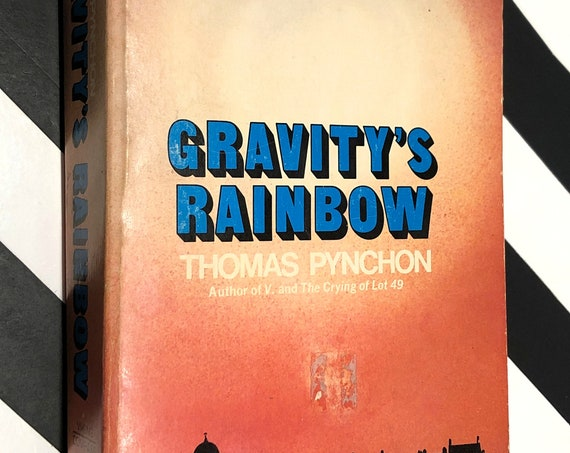 Gravity's Rainbow by Thomas Pynchon (1973) softcover book