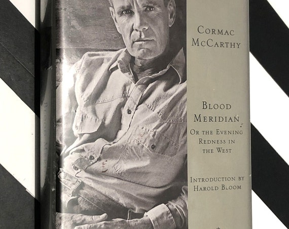 Blood Meridian by Cormac McCarthy (1985) Modern Library book