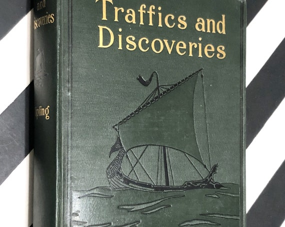 Traffics and Discoveries by Rudyard Kipling (1904) first edition book