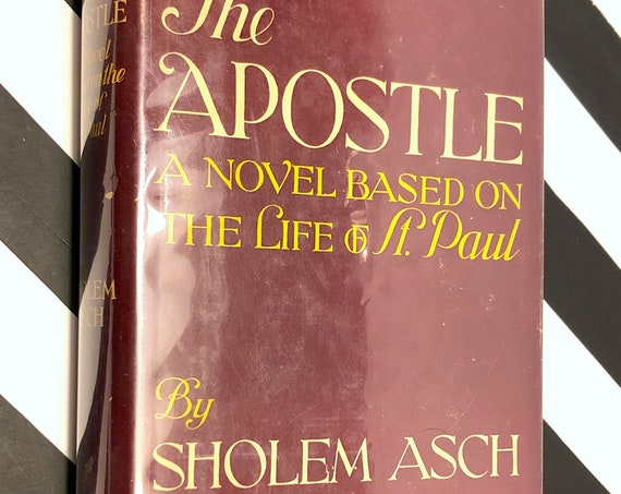 The Apostle by Sholem Asch (1943) hardcover book