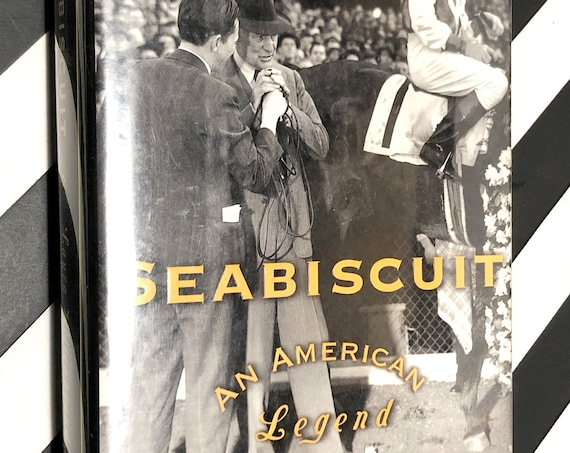 Seabiscuit by Laura Hillenbrand (2001) first edition book