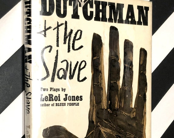 The Dutchman + The Slave, Two Plays by LeRoi Jones (1964) first edition book