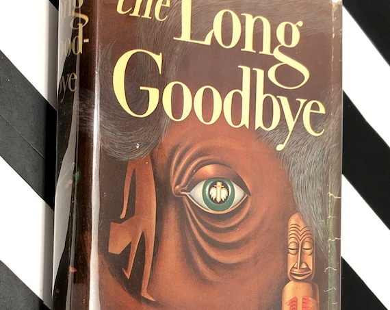 The Long Goodbye by Raymond Chandler (1954) first edition book