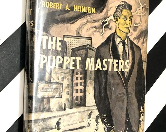 The Puppet Masters by Robert Heinlein (1951) hardcover book