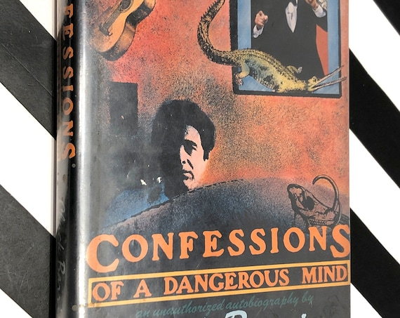 Confessions of a Dangerous Mind by Chuck Barris (1984) first edition book