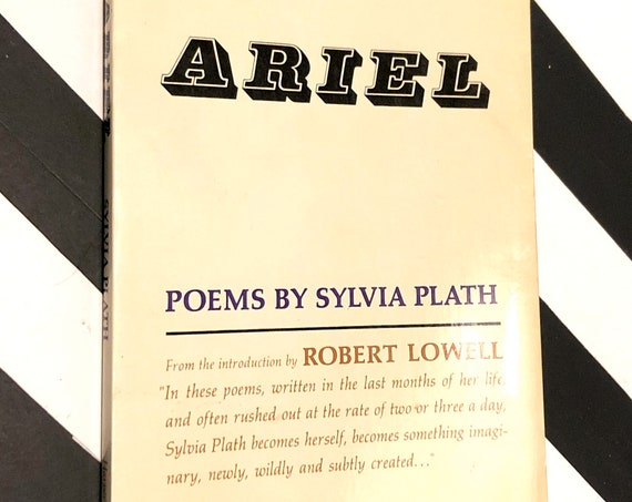 Ariel: Poems by Sylvia Plath (1966) softcover book