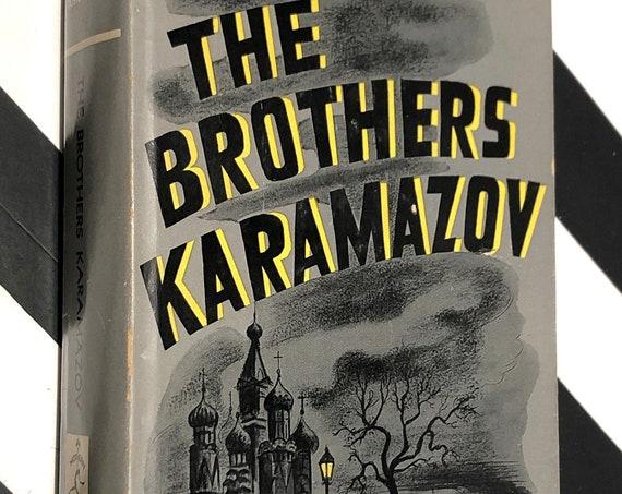 The Brothers Karamazov by Fyodor Dostoyevsky (1952) hardcover Modern Library book