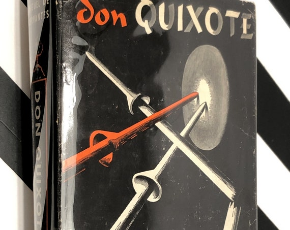 Don Quixote by Miguel de Cervantes (1950) hardcover Modern Library book
