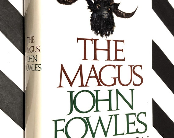 The Magus by John Fowles (1977) hardcover book