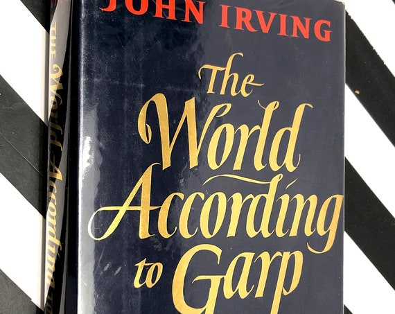 The World According to Garp by John Irving (1978) hardcover book