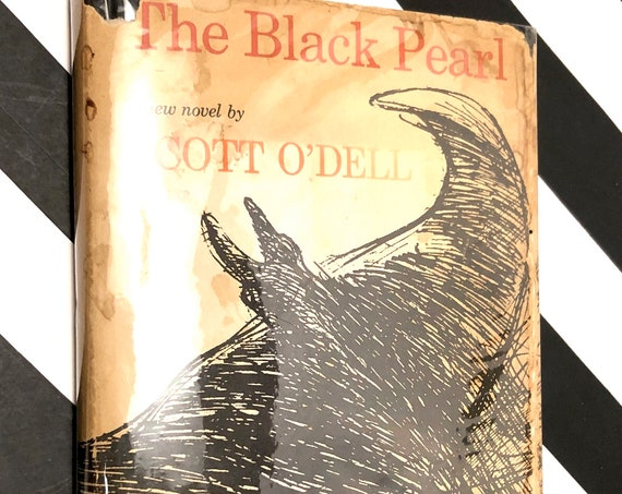 The Black Pearl by Scott O' Dell (1967) first edition book