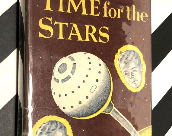 Time for the Stars by Robert Heinlein (1956) hardcover book