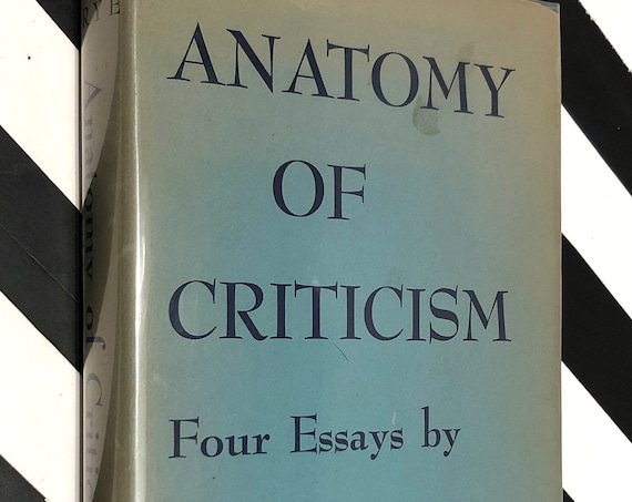 Anatomy of Criticism by Northrop Frye (1957) hardcover book