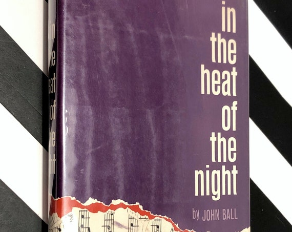 In the Heat of the Night by John Ball (1965) first edition book