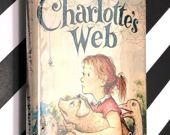 Charlotte's Web by E.B. White (1952) hardcover book