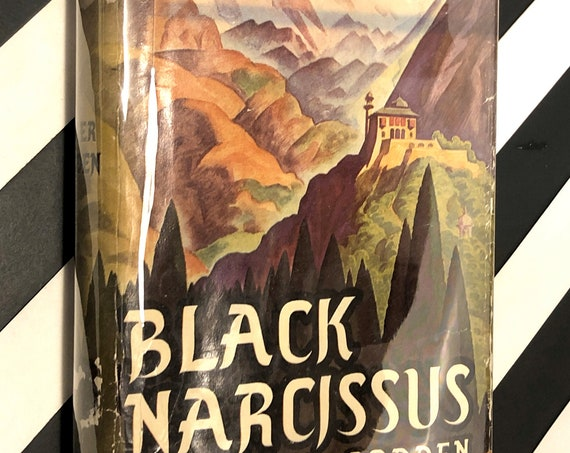 Black Narcissus by Rumer Godden (1939) hardcover book