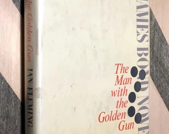 The Man with the Golden Gun by Ian Fleming (1965) first edition book