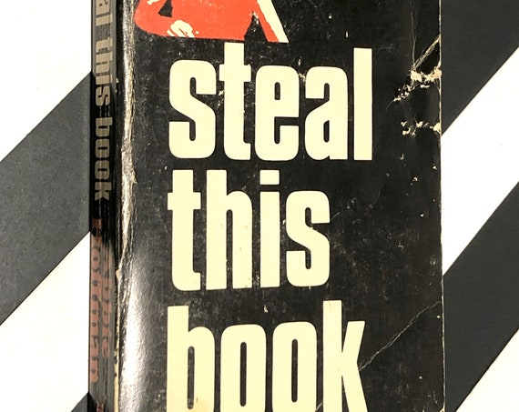 Steal this book by Abbie Hoffman (1971) first edition book